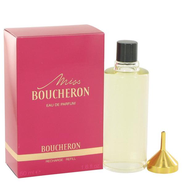Miss Boucheron by Boucheron Eau De Parfum Spray Refill 1.7 oz for Women
