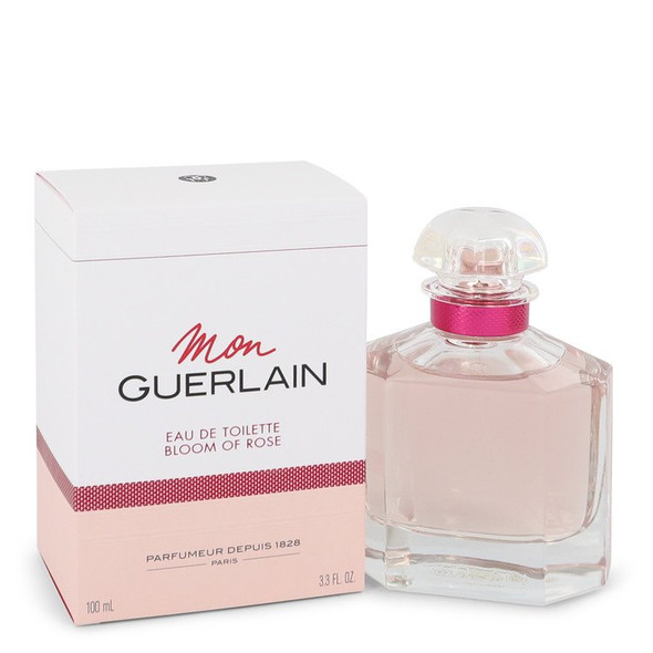 Mon Guerlain Bloom of Rose by Guerlain Eau De Toilette Spray 3.3 oz for Women