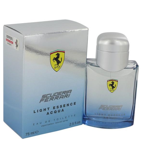Ferrari Light Essence Acqua by Ferrari Eau De Toilette Spray 2.5 oz for Men
