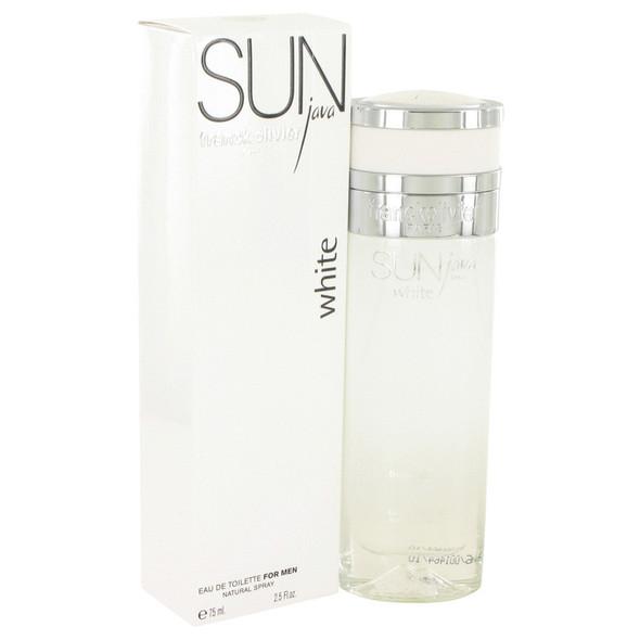 Sun Java White by Franck Olivier Eau De Toilette Spray 2.5 oz for Men