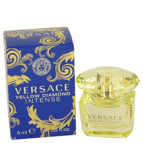 Versace Yellow Diamond Intense by Versace Mini EDP .17 oz for Women