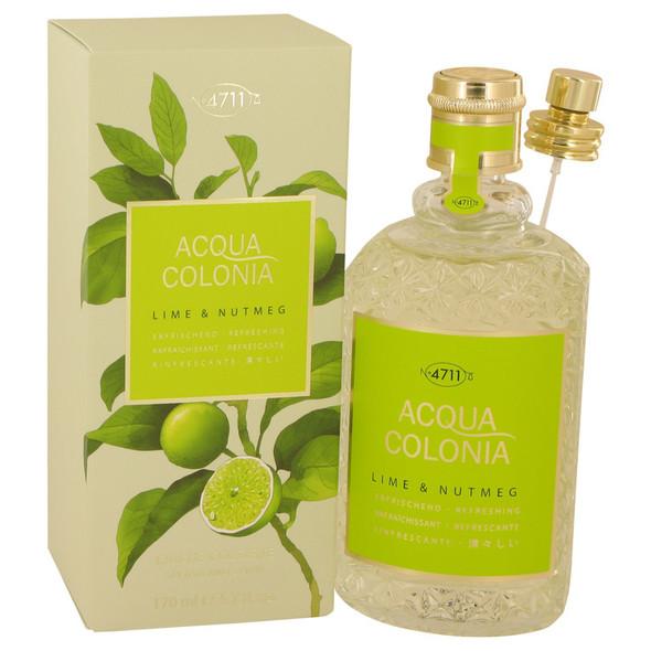 4711 Acqua Colonia Lime & Nutmeg by Maurer & Wirtz Eau De Cologne Spray 5.7 oz for Women