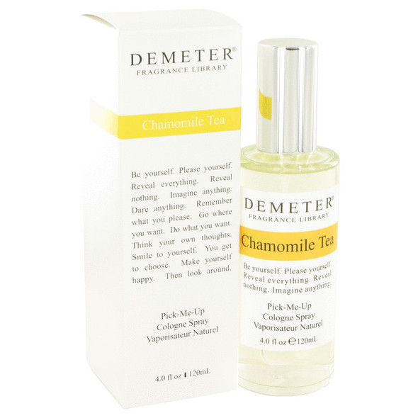 Demeter Chamomile Tea by Demeter Cologne Spray 4 oz for Women