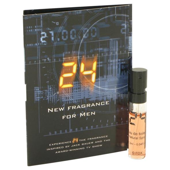 24 The Fragrance by ScentStory Vial (sample) .04 oz for Men