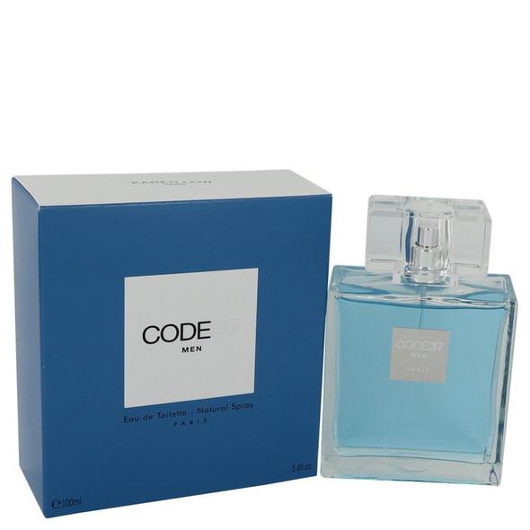 Code 37 by Karen Low Eau De Toilette Spray 3.4 oz for Men