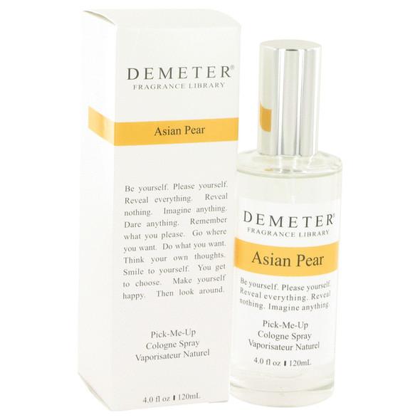 Demeter Asian Pear Cologne by Demeter Cologne Spray (Unisex) 4 oz for Women