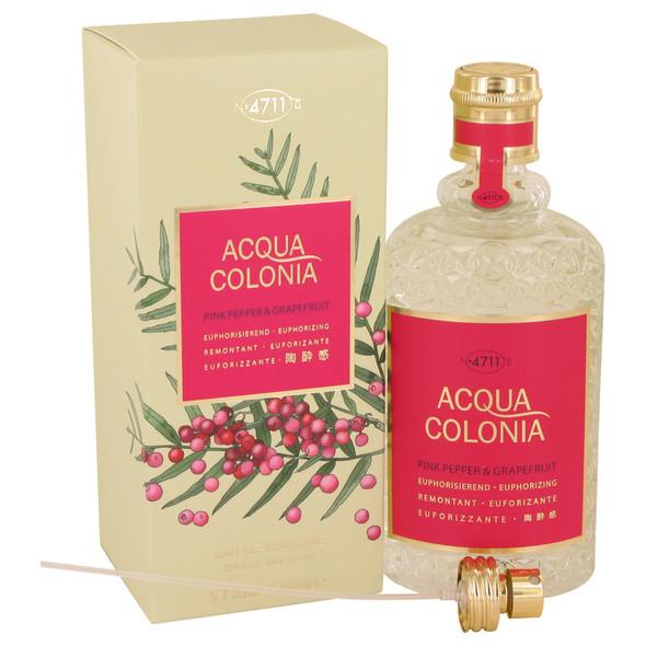 4711 Acqua Colonia Pink Pepper & Grapefruit by Maurer & Wirtz Eau De Cologne Spray 5.7 oz for Women