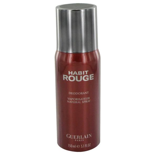 HABIT ROUGE by Guerlain Deodorant Spray 5 oz for Men