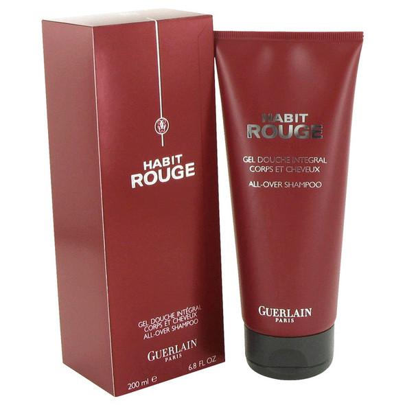 HABIT ROUGE by Guerlain Hair & Body Shower gel 6.8 oz for Men