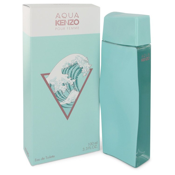 Aqua Kenzo by Kenzo Eau De Toilette Spray 3.3 oz for Women