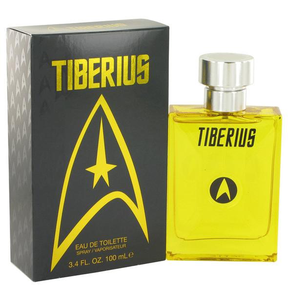 Star Trek Tiberius by Star Trek Eau De Toilette Spray 3.4 oz for Men