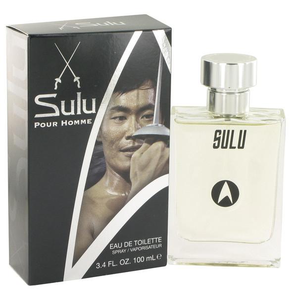 Star Trek Sulu by Star Trek Eau De Toilette Spray 3.4 oz for Men