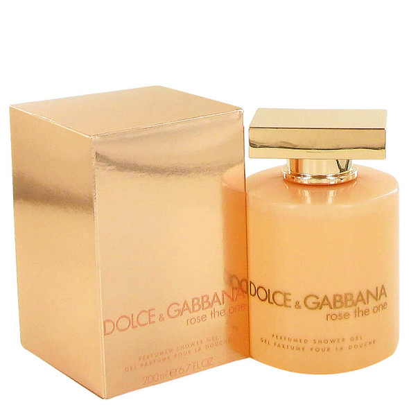 Rose The One by Dolce & Gabbana Shower Gel 6.8 oz for Women