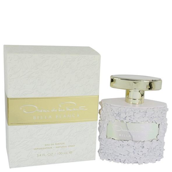 Bella Blanca by Oscar De La Renta Eau De Parfum Spray 3.4 oz for Women