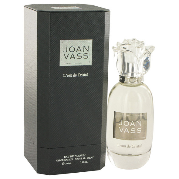 L'eau De Cristal by Joan Vass Eau De Parfum Spray 3.4 oz for Women