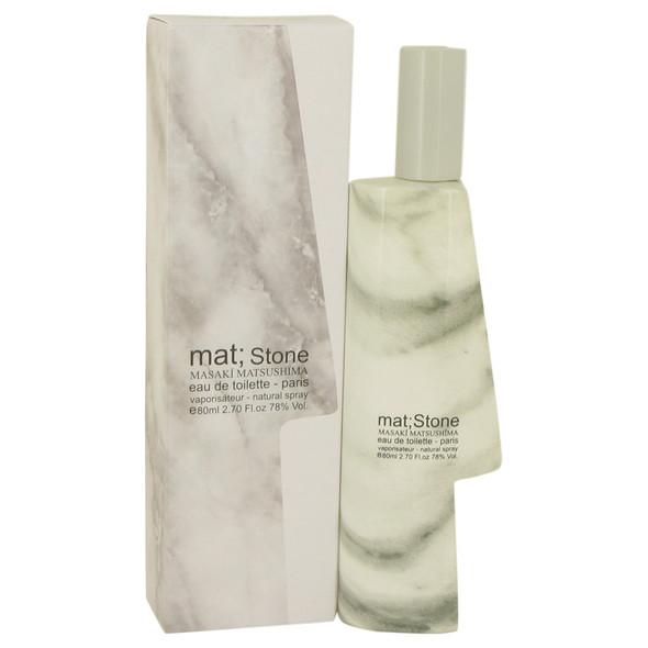 Mat Stone by Masaki Matsushima Eau De Toilette Spray 2.7 oz for Men