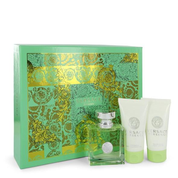 Versace Versense by Versace Gift Set -- 1.7 oz Eau De Toilette Spray + 1.7 oz Body Lotion + 1.7 oz Shower Gel for Women
