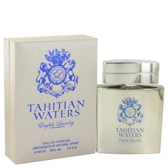 Tahitian Waters by English Laundry Eau De Parfum Spray 3.4 oz for Men