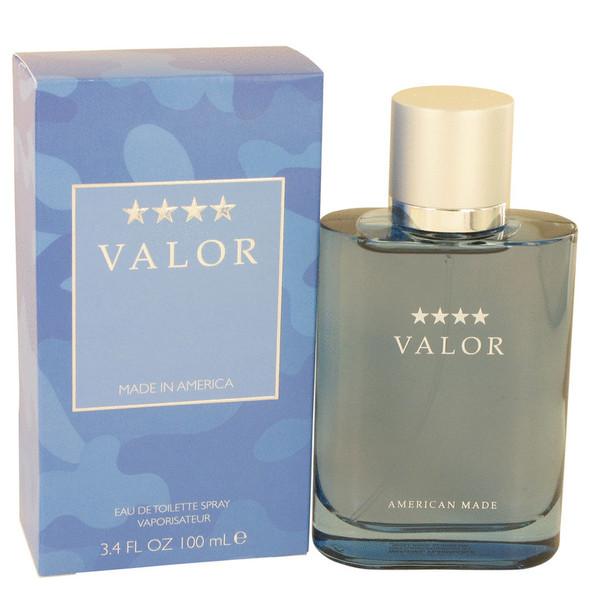 Valor by Dana Eau De Toilette Spray 3.4 oz for Men