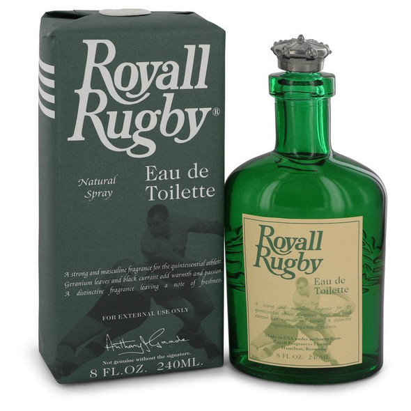 Royall Rugby by Royall Fragrances All Purpose Lotion / Cologne Spray 8 oz for Men