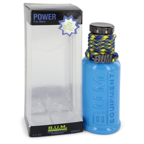 BUM Power by Bum Equipment Eau De Toilette Spray 3.4 oz for Men