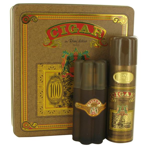 CIGAR by Remy Latour Gift Set -- 3.3 oz Eau De Toilette Spray + 6.6 oz Deodorant for Men