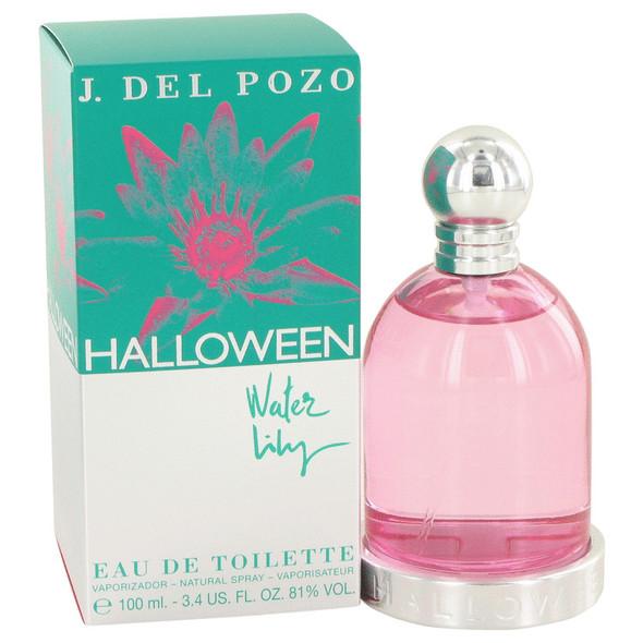 Halloween Water Lilly by Jesus Del Pozo Eau De Toilette Spray 3.4 oz for Women