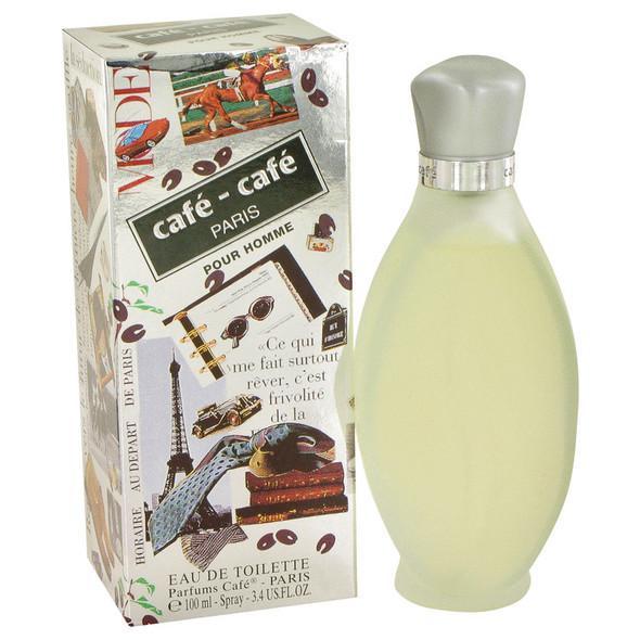 Cafe - Cafe by Cofinluxe Eau De Toilette Spray 3.4 oz for Men