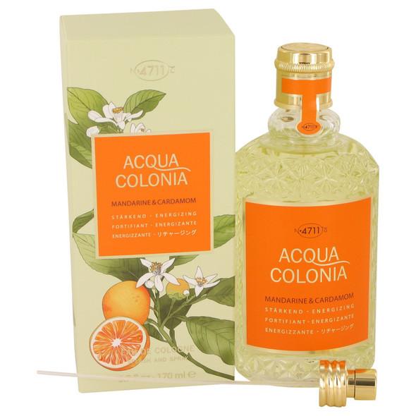 4711 Acqua Colonia Mandarine & Cardamom by Maurer & Wirtz Eau De Cologne Spray 5.7 oz for Women