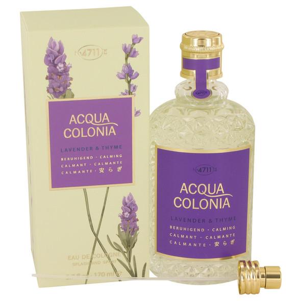 4711 ACQUA COLONIA Lavender & Thyme by Maurer & Wirtz Eau De Cologne Spray (Unisex) 5.7 oz for Women
