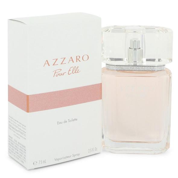 Azzaro Pour Elle by Azzaro Eau De Toilette Spray 2.5 oz for Women