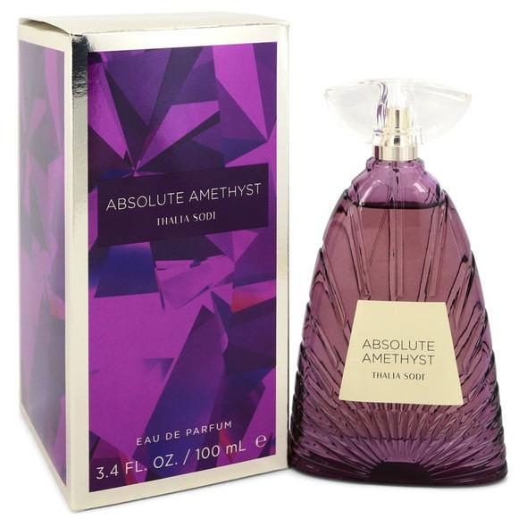 Absolute Amethyst by Thalia Sodi Eau De Parfum Spray 3.4 oz for Women