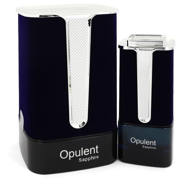 Al Haramain Opulent Sapphire by Al Haramain Eau De Parfum Spray (Unisex) 3.3 oz for Women