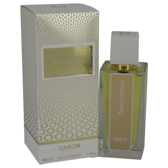 NOCTURNES D'CARON by Caron Eau De Parfum Spray (New Packaging) 3.4 oz for Women