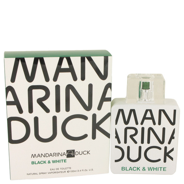 Mandarina Duck Black & White by Mandarina Duck Eau De Toilette Spray 3.4 oz for Men