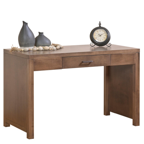 "48"" X 24"" X 30'.5"" Cappuccino Wood Writing Desk"