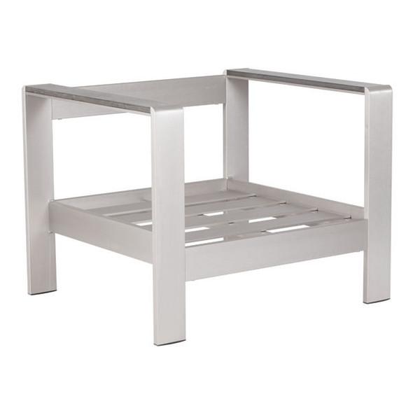 """31.9"""" X 27.6"""" X 24.6"""" Faux Frame Arm Chair"""