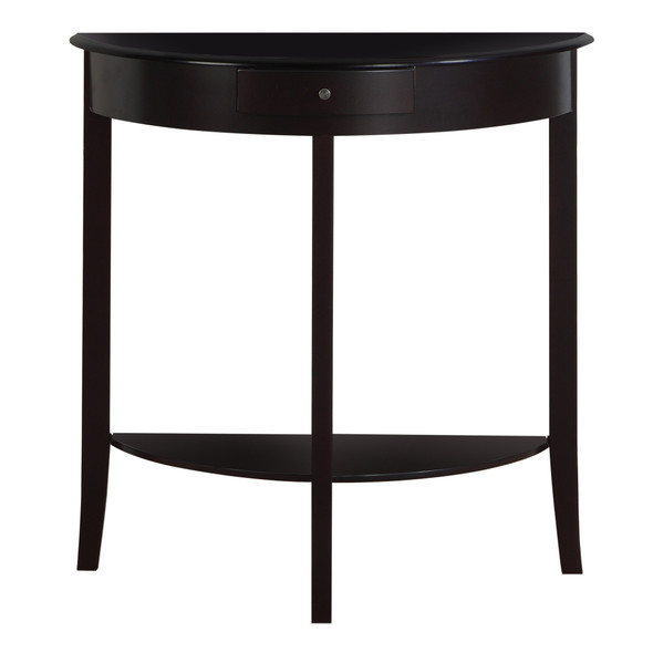 """12"""" x 30'.75"""" x 32"""" Cherry, Solid Wood, Mdf - Accent Table"""