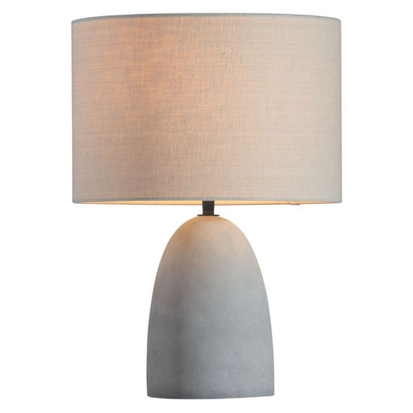 "12"" X 12"" 22"" White And Black Melrose Table Lamp"