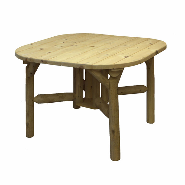 "47"" X 47"" X 30"" Natural Wood Roundabout Table"