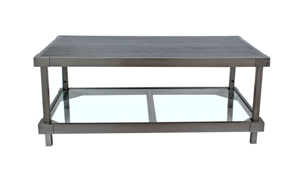 "24"" x 44"" x 18"" Charcoal, Wood - Console Table"