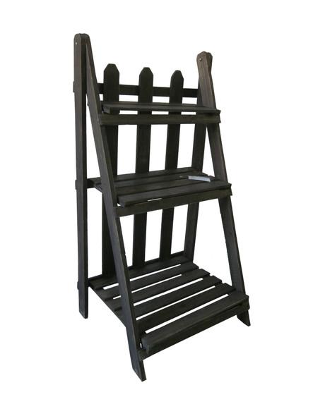 "1"" x 17"" x 15"" Black, Wood - Shelf"