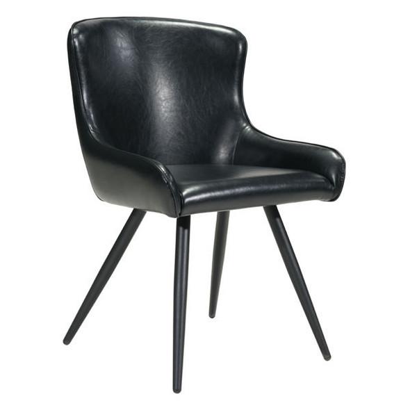 "20.5"" X 22.8"" X 32.7"" Black Dining Chair"