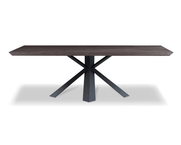 """94.5"""" X 43.5"""" X 30"""" Oak Veneer Round Dining Table"""