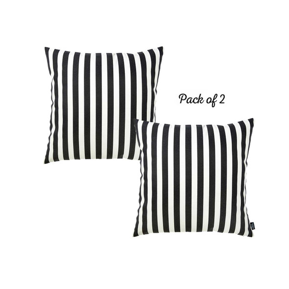 "20 ""x 20"" Easycare Decorative Throw Pillow Case Set Of 2 Pcs Square - 355340"