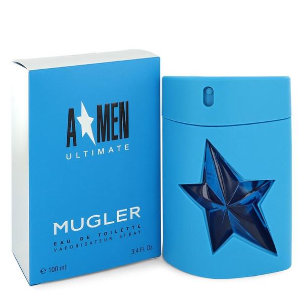 Angel Amen Ultimate by Thierry Mugler Eau De Toilette Spray 3.4 oz for Men