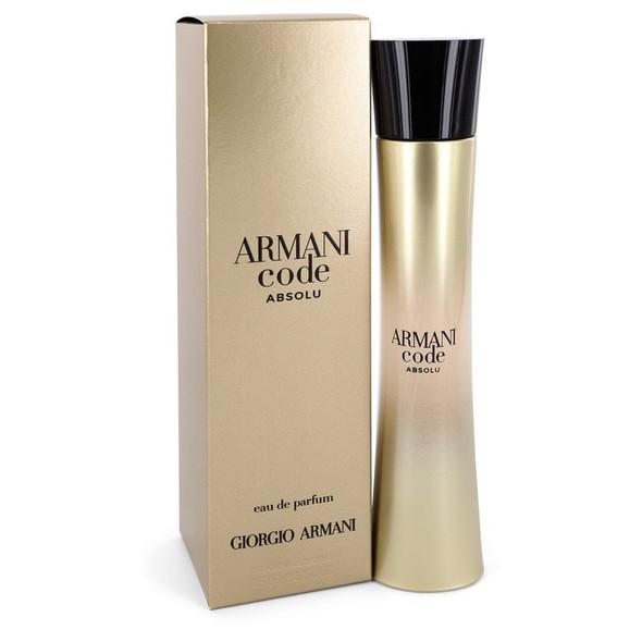 Armani Code Absolu by Giorgio Armani Eau De Parfum Spray 2.5 oz for Women