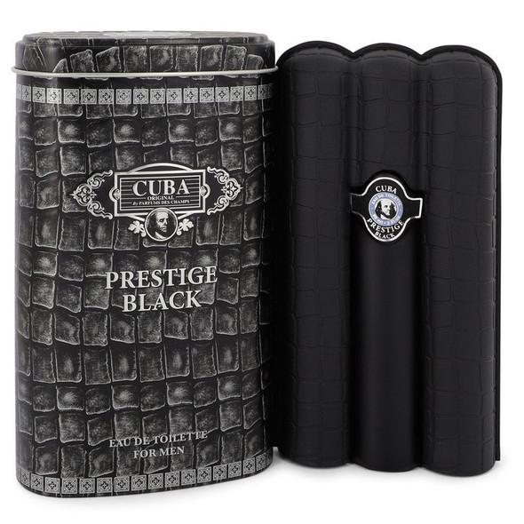Cuba Prestige Black by Fragluxe Eau De Toilette Spray for Men