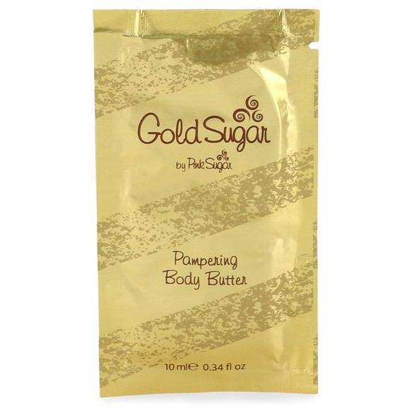 Gold Sugar by Aquolina Body Butter Pouch .34 oz for Women