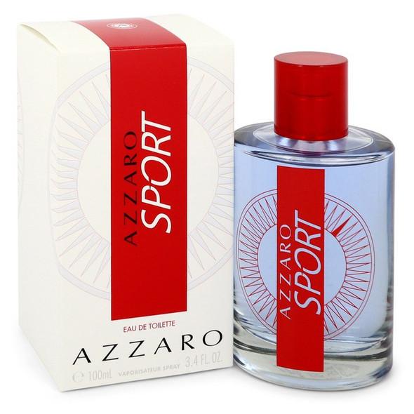 Azzaro Sport by Azzaro Eau De Toilette Spray 3.4 oz for Men